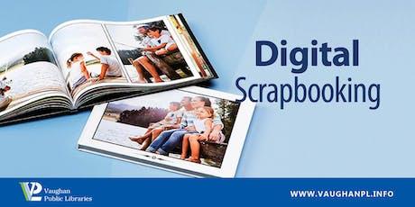 Digital Scrapbooking tickets