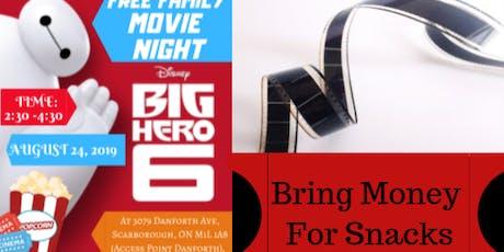 Free Family Movie Night tickets
