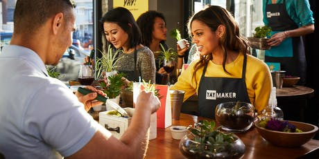 Plant & Sip Terrarium Workshop at Engine 15 Downtown with Plant Nite  tickets