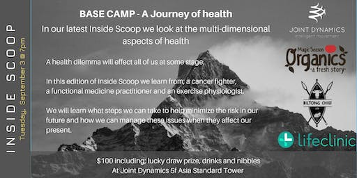 INSIDE SCOOP | Base Camp - A Journey of health