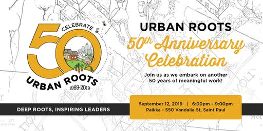 Urban Roots 50th Anniversary Celebration