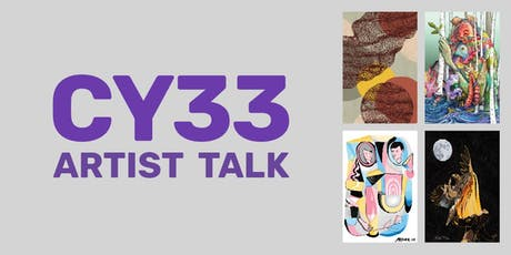 CY33 Artist Talk tickets