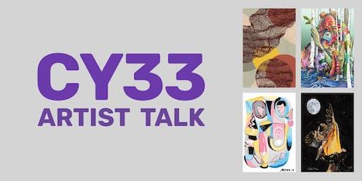 CY33 Artist Talk