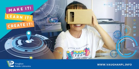 Virtual Reality @ the Library tickets