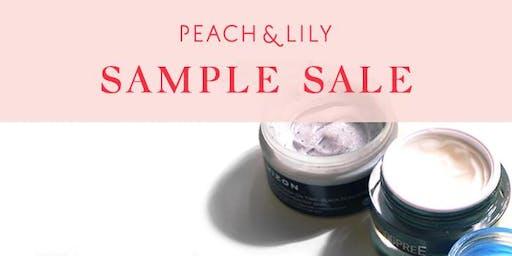 Peach & Lily Sample Sale