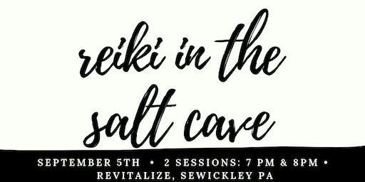 Reiki in the Salt Cave