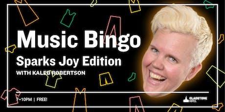 Music Bingo: Sparking Joy Edition tickets
