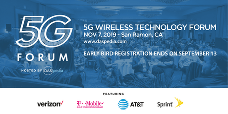 DASpedia's 5G Wireless Technology Forum II tickets