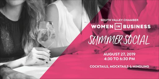 South Valley Chamber Women in Business Summer Social