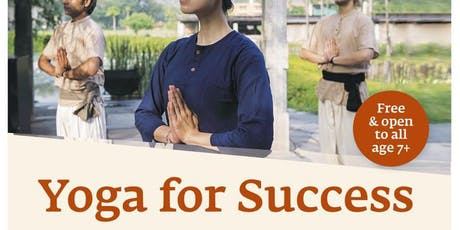 Isha: Yoga for Success session on 04/13/2019 at 1.00 PM tickets