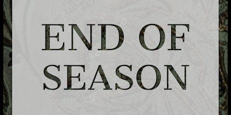 END  OF SEASON SALE! billets
