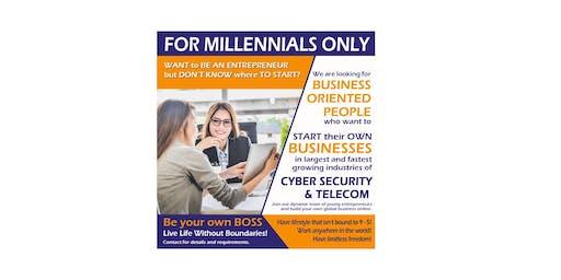 How to start a Business Online for Millennials