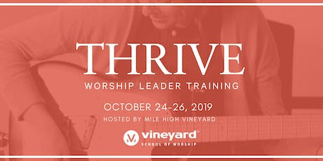 THRIVE DENVER: Worship Leader Training tickets