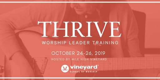 THRIVE DENVER: Worship Leader Training