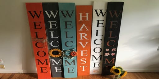 Fall Welcome Signs  35.00