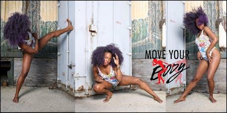 Move Your BODY : Beginner's Reggae Dance Class tickets