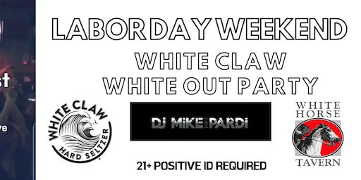White Claw White Out Party