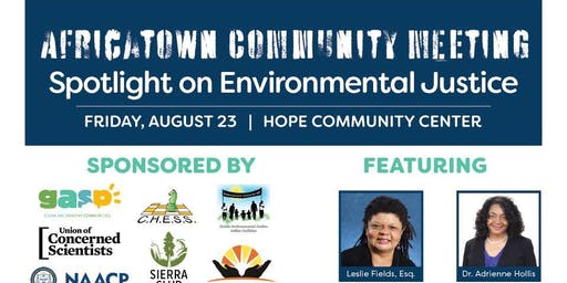 Africatown Community Meeting: Spotlight on Environmental Justice