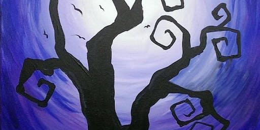 Spooky Tree at Kalispell Senior Center!
