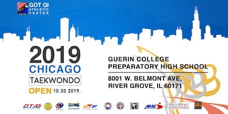 2019 Chicago Taekwondo Open tickets