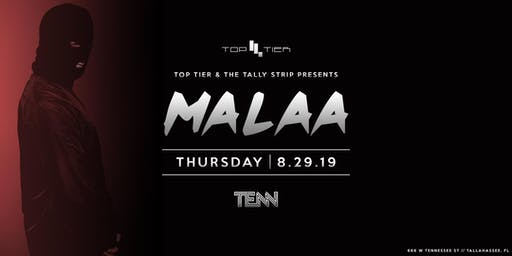 Top Tier Presents: Malaa at TENN—Back 2 School