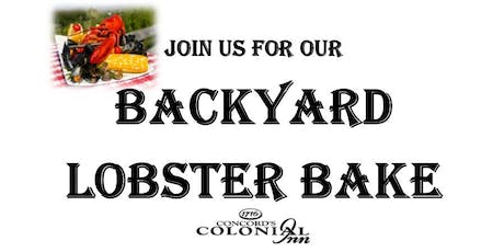 Lobster Bake at Concord's Colonial Inn tickets