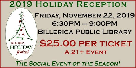 2019 Holiday Reception tickets