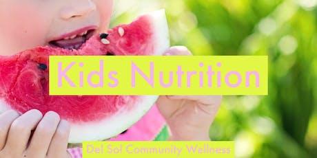 Kids Nutrition tickets