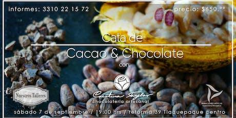CATA DE CACAO Y CHOCOLATE CON LA CHEF CRISTINA TAYLOR tickets