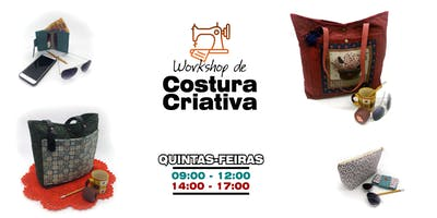 Workshop de Costura Criativa: Quintas de Manhã