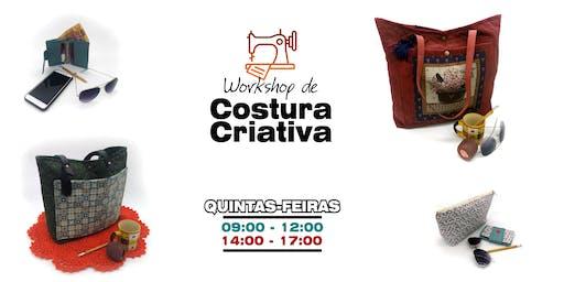 Workshop de Costura Criativa: Quintas de Tarde