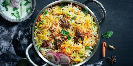 Indian Rice Dishes tickets