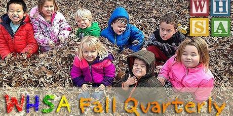 WHSA 2019 Fall Quarterly tickets