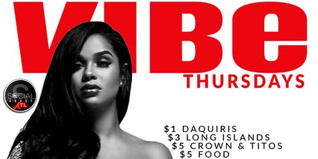 VIBE Thursdays at Wraith tickets