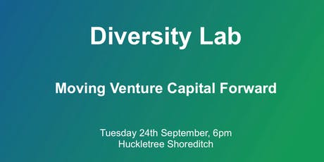 Diversity Lab: Moving Venture Capital & Tech Forward tickets