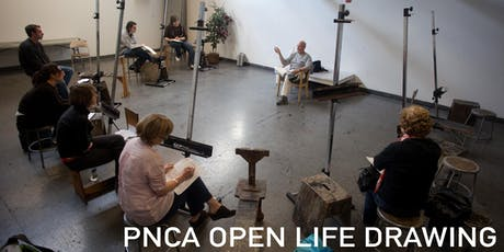 Open Life Drawing tickets