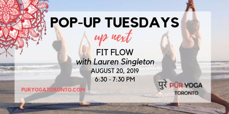 POP-UP TUESDAYS: FIT FLOW WITH LAUREN SINGLETON tickets