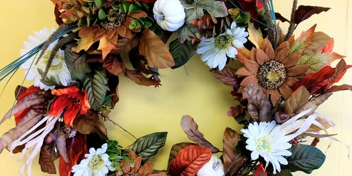 Fall Grapevine wreath class