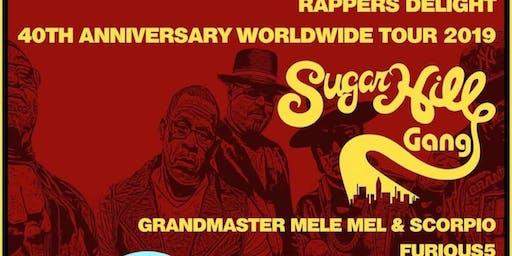 Sugarhill Gang & Furious 5 Grandmaster Mele Mel & Scorpio