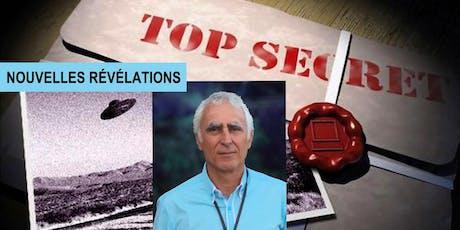 * Nouvelles révélations : OVNI - DOSSIERS SECRETS Avec Michael E. Salla, PhD, auteur et enquêteur international. billets