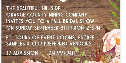 Orange County Mining Co.  Bridal & Special Event Showcase