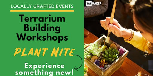 Terrarium Workshop with Plant Nite - First Magnitude Brewing Co.
