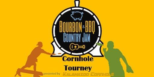 Bourbon & BBQ Country Jam Cornhole Tourney 2019