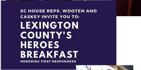 Lexington County Hero Breakfast tickets
