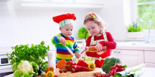 September Kids in the Kitchen at Manhattan Hy-Vee