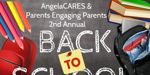 AngelaCARES & Parents Engaging Parents 2nd Annual BookBag Giveaway