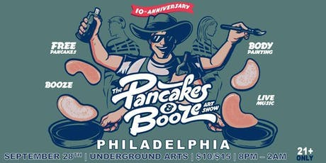 The PANCAKES & BOOZE Art Show tickets