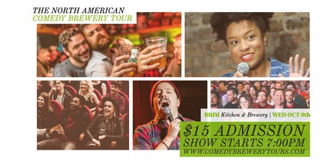 Draughts & Laughs: Beer and Comedy Show at BRIM! tickets