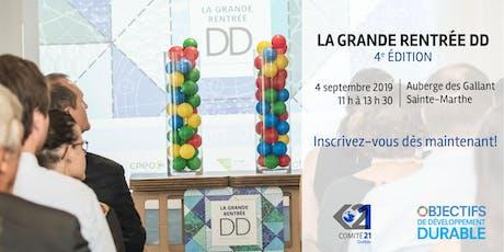 La Grande Rentrée DD - 4e Édition tickets