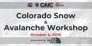 18th Annual Colorado Snow and Avalanche Workshop